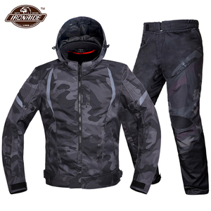 Image 1 - Men Motorcycle Jacket Waterproof Motocross Suit Windproof Moto Protection Wearable Chaqueta Moto With Removeable Linner