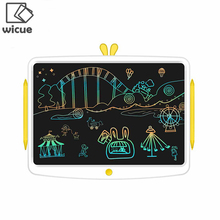 From Xiaomi youpin Wicue 10 12 16 inch Kids LCD Handwriting Board Colorful Writing Tablet Digital Drawing Imagine pad With Pen