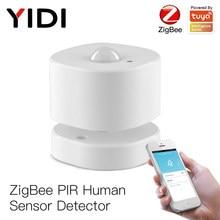 ZigBee PIR Motion Sensor Menschlichen Sensor Detektor Smart Leben Tuya App Control Intelligente Verknüpfung Smart Home Alarm System