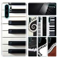 Music Piano Keyboard Phone Case For Huawei P10 P20 P30 P40 Lite