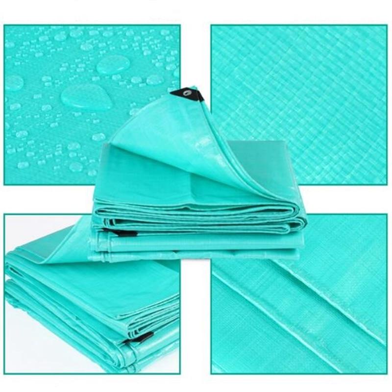 Outdoor Rain Sail Tarp Waterproof Tarpaulin High Quality Sunshade Heat Insulation Tarpaulin For Home Garden Customized Size