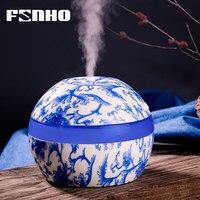 Umidificador de aroma essencial funho 300ml  umidificador ultrassônico  usb  para casa e escritório