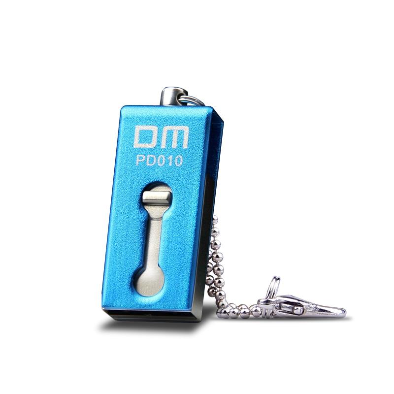DM PD010 USB Flash Drive 64GB Metal OTG Pendrive High Speed Memory Stick 32GB Pen Drive Real Capacity 8GB USB Flash U Disk