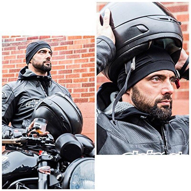 Motorcycle Helmet Cap Quick Dry Breathable Racing Cap Under Helmet Moisture Wicking Beanie Cap Motorcycle Accessories