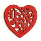 202010PCS Red Heart ...