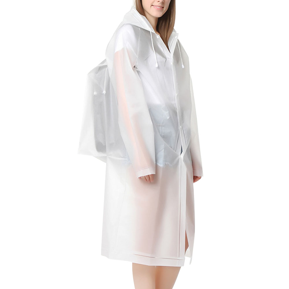 Disposable Isolation Gown Windproof Raincoat Motorcycle Use For Construction Gardening DIY Waste Management Can Be Reused|Motorcycle Rider Raincoat| |  -