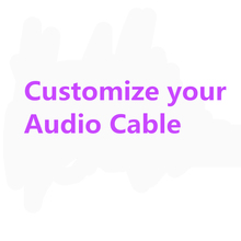 Customize your Audio speaker cable, power cable, RCA cable, XLR cable, USB cable