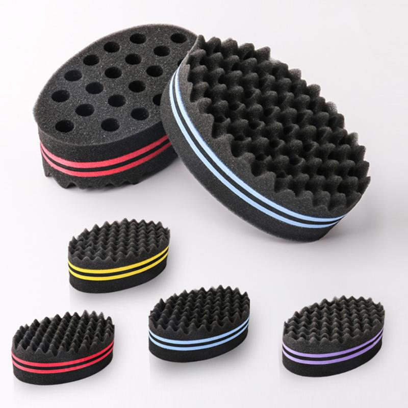 Salon Sponge Comb Lightness And Portability No Space Occupy Head Massage Curly Straight Barbershop Hair Styling Perm Tool