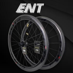 Image 1 - עלית 700c אופני כביש פחמן גלגלי 3k אריג UCI שפת פחמן באיכות ללא פנימית מוכן Sapim מאובטח מנעול פטמה כביש אופניים