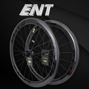 Elite 700c Road Bike Carbon Wheels 3k Twill UCI Quality Carbon Rim Tubeless Ready Sapim Secure Lock Nipple Road Cycling Wheelset(China)