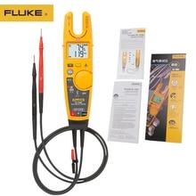 100% 오리지널 fluke T6 1000 클램프 미터 멀티 미터 연속성 전류 전기 테스터 비 접촉 전압 고정밀 개방