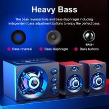 Bluetooth Speaker USB Wired Fashion Desktop Computer Speaker For Computer Speaker Stereo Music Player Subwoofer Sound Box For PC