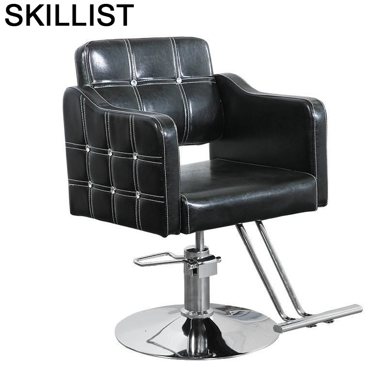 Stoel Sessel Furniture Cabeleireiro Beauty De Belleza Sedie Barbero Stuhl Barbershop Silla Salon Barbearia Cadeira Barber Chair