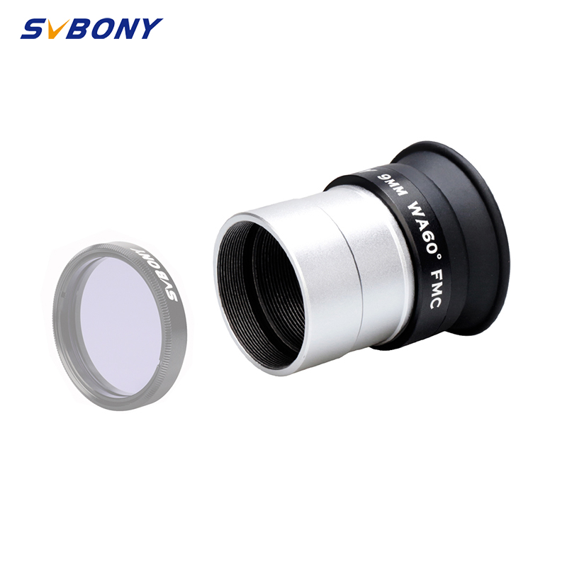 """SVBONY 1.25"""" SV113 9/12/16/20mm Eyepiece Wide Angle 60° Eyepiece HD Fully Coated for 31.7mm NAstronomic Telescope F9184-in Monocular/Binoculars from Sports & Entertainment on AliExpress - 11.11_Double 11_Singles' Day 1"""