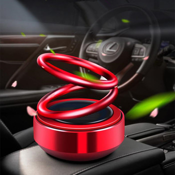 New Car Air Freshener Solar Car Perfume Rotation Car Accessories for Kia Rio K2 K3 K4 K5 KX3 KX5 Cerato,Soul,Forte,Sportage R image
