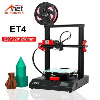 Anet ET4 ET4X 3D Printer Kit DIY  High Precision Aluminum Alloy Frame FDM 3D Printer with Filament 3D