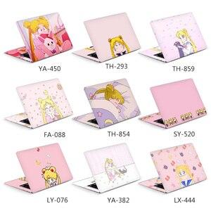 DIY Sailor Moon laptop sticker laptop skin 12/13/14/15/17 inch for MacBook/HP/Acer/Dell/ASUS/Lenovo