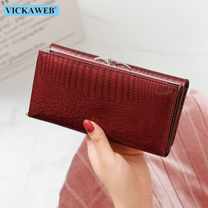 Image 3 - VICKAWEB ของแท้หนังผู้หญิงกระเป๋าสตางค์ Multifunction สตรีคลัทช์ขนาดใหญ่กระเป๋าสตางค์สุภาพสตรีกระเป๋าใส่นามบัตรกระเป๋าถือ
