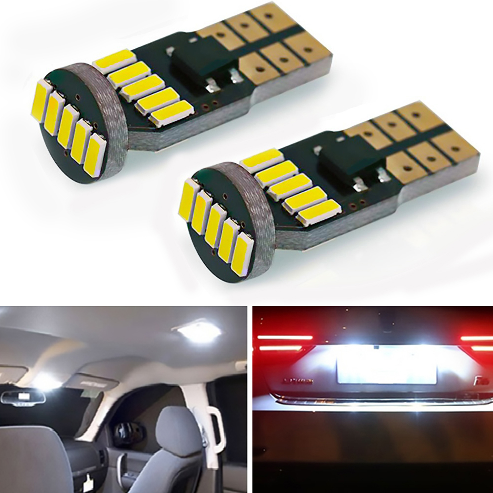 2PCS W5W <font><b>LED</b></font> Bulb <font><b>T10</b></font> <font><b>Canbus</b></font> 2825 Clearance Side Marker Lights For <font><b>VW</b></font> Passat B5 B6 CC Golf 4 5 6 7 Jetta MK4 MK5 MK6 Polo Tiguan image