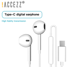 !ACCEZZ Type C Earphone USB-C Earbuds In-Ear Sport Gaming Headset With Mic For Xiaomi Mi 8 9