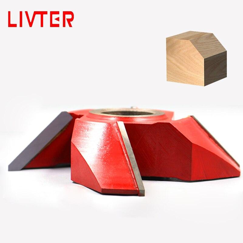 LIVTER TCT Spiral Wood Shaper Cutter Head Angle End Mills For Woodworking Machine