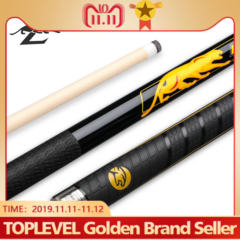 PREOAIDR 3142 BK3 Billiard Pool Cue Rubber Handle Pool Cues Stick Kit 12.75mm /11.5mm Tip Made In China Billiards Cue