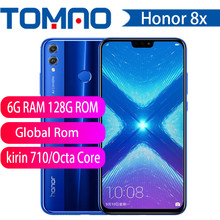 Honor 8X MobilePhone 6.5 inch Screen 3750mAh Battery Android 8.2 Dual Back 20MP Camera Multiple Language Smartphone(China)