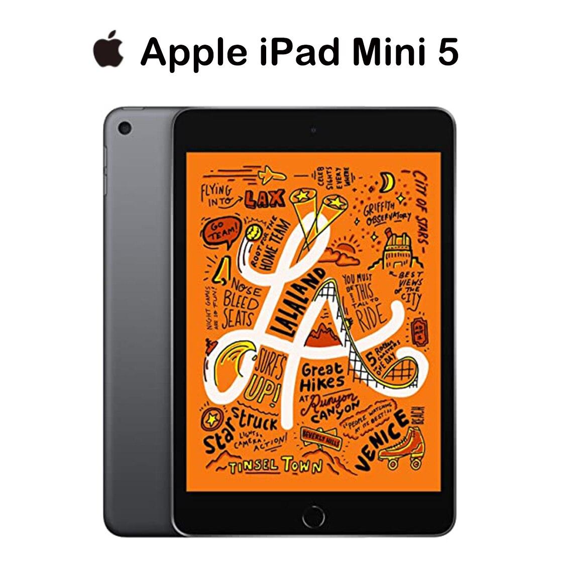 Новый оригинальный 2019 дюймовый Apple iPad Mini 5 ( 64 ГБ, серая Версия Wi-Fi), дисплей Retina 7,9 дюйма, чип A12, сенсорный ID, поддержка Apple Pencil IOS
