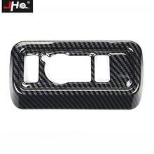 Jho панель переключателя автомобильных фар из углеродного зерна