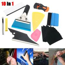 28* Car Window Tint Film Wrapping Vinyl Tools Squeegee Scraper Applicator Kits Car Styling Accessories Window Tint Wrapping Tool