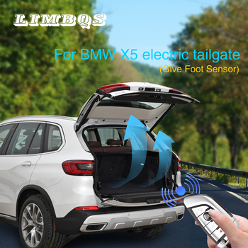 Electric tailgate refitted for BMW F15 F16 2013-19 X5 X6series tail box intelligent electric tail gate door power operated trunk