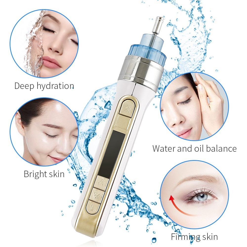 Portable 3D Smart Injector Pen Water Mesotherapy Meso Gun Injection Skin Rejuvenation Removal Wrinkle&Pouch Beauty Face Salon