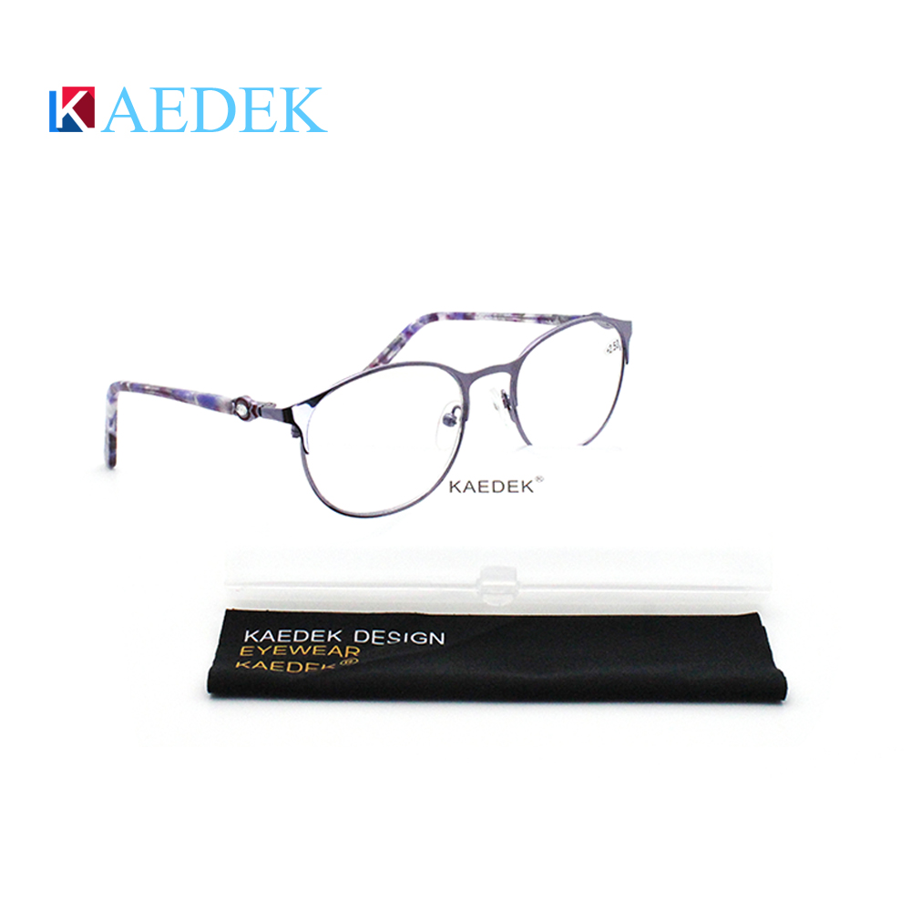 KAEDEK Модные женские очки для чтения с кошачьим глазом, анти синие лиг, новый дизайн, высокое качество, металлические блокирующие компьютерные очки + 1 + 1,5 + 2 + 2,5 + 3 Женские очки для чтения      АлиЭкспресс