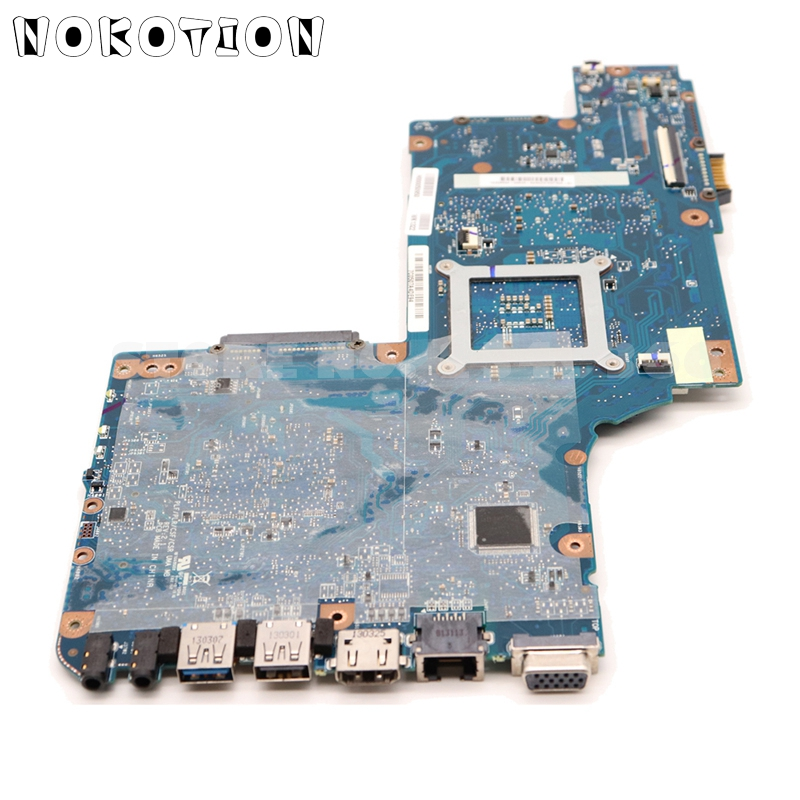 lowest price NOKOTION H000052590 For Toshiba Satellite C850 L850 Laptop Motherboard 15 6   HM76 HD4000 DDR3 Support i3 i5 i7