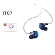 iBasso IT07 Ai Basso seven unit ring iron hybrid headset HIFI fever in ear earplugs