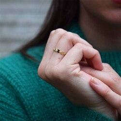 14K or rempli pièces minimalisme anneaux Knuckle Bague or bijoux Anillos Mujer Bague Femme Boho Aneis Bague pour femmes