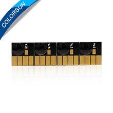 Colorsun для hp 932 933 чернильный картридж ARC чип для hp Officejet 6100 6600 6700 7110 7610 7612 принтер чипы автоматического сброса