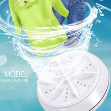Usb-Cable Washing-Machine Dirt-Washer Trip Mini Portable for Travel Home Business Removes