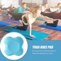 Esterillas protectoras antideslizantes para Yoga, 2 uds., rodillera de Yoga, codos de muñeca, soporte de equilibrio, cojín de espuma de PU antideslizante