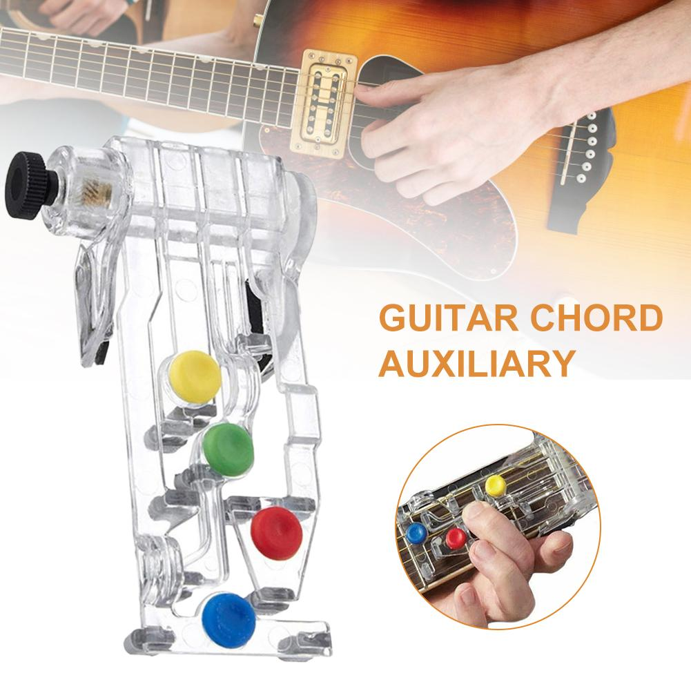 Guitar Chord Auxiliary Effective Useful Learning System Teaching Aid Tool Device For Beginner