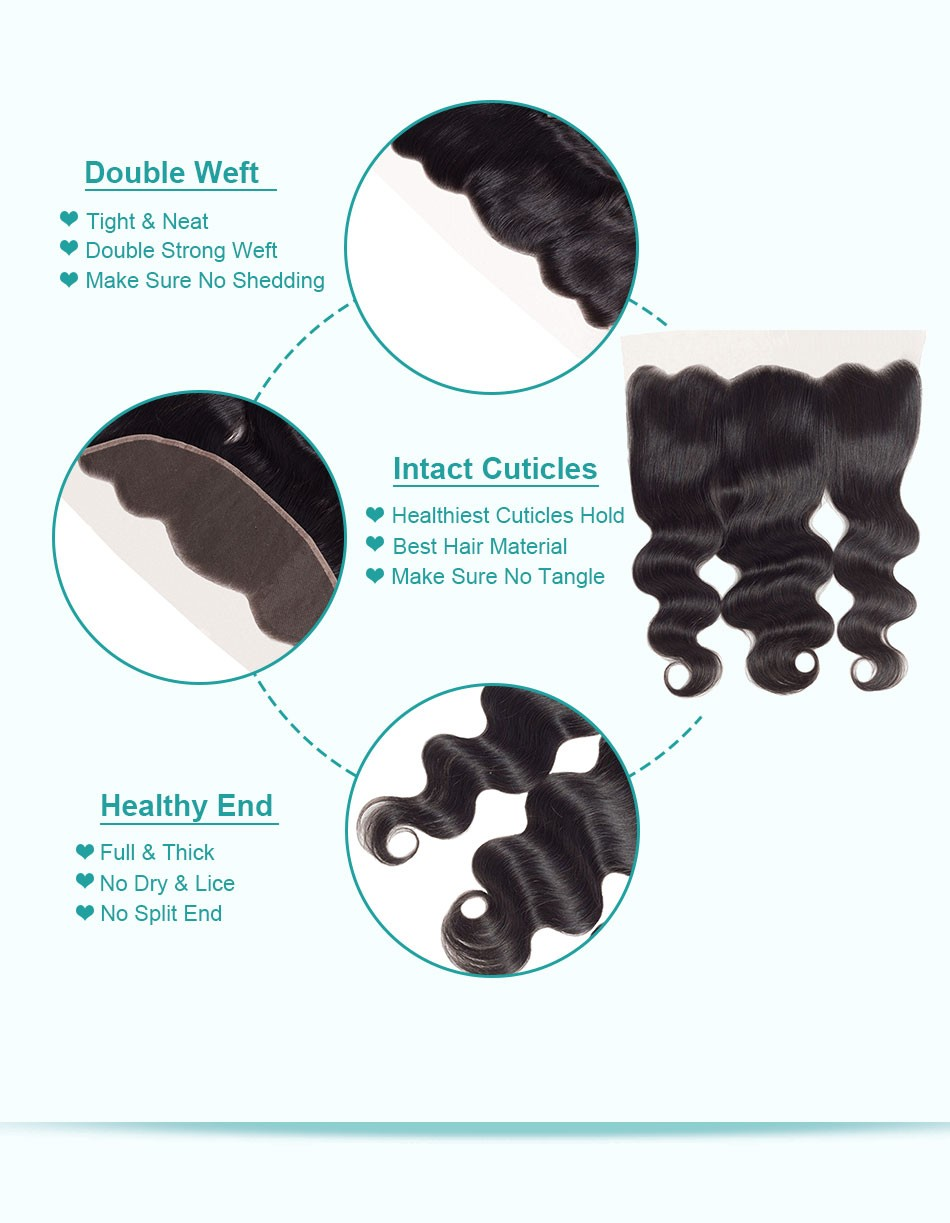 body wave ear to ear lace frontal -4+13_07
