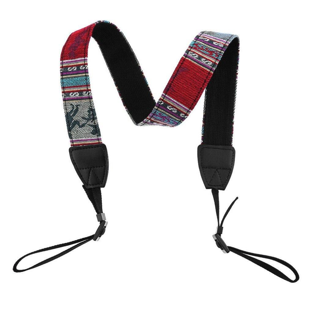 DSLR Universal Correa de Cuello de algodón durable Vintage para todas las marcas de Cámara SLR DSLR