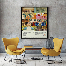 Museum Art Exhibition Print Vintage Exhibition Poster Painting Wall Art Canvas Prints Mid-Century Wall Picture Home Decor
