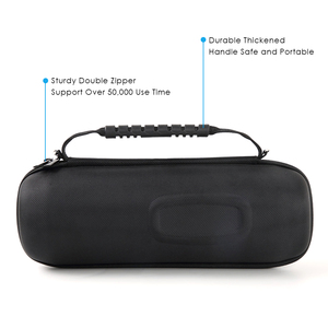 Image 3 - Protable EVA Hard Travel Protective Case For JBL charge4 charge 4 Wireless Bluetooth Speakers & Extra Space with Accessories