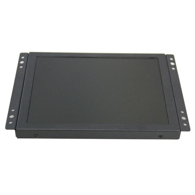 ZHIXIANDA 8 zoll mit HDMI VGA/D-Sub BNC AV USB eingang open frame desktop industrie monitor