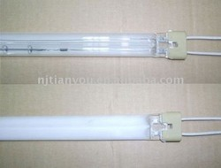 Plastic Processing IR Lamp Tube 355Mm 450Mm 580Mm Infrared Heating Lamp
