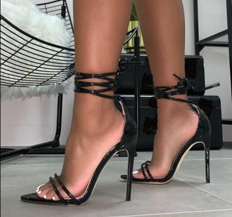 Pointed Toe Gladiator Sandals Shoes