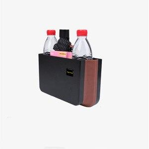 E-FOUR складной мусорное ведро настенный мусорное ведро подвесной держатель мешка для мусора для шкафа автомобиля Спальня Ванная комната & открытый мусорный Trashca