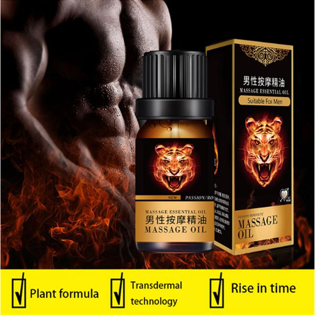 masaż penisa w oleju