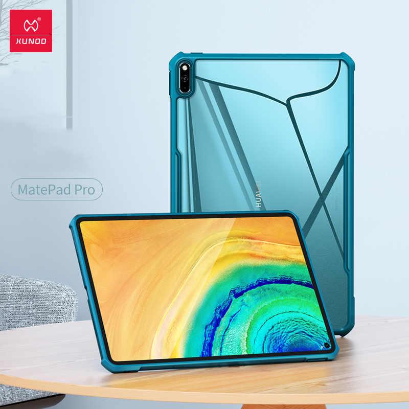 Xundd capa protetora tablet para huawei matepad pro 10.8 caso à prova de choque capa fina airbag pára luz capa ajustável titular